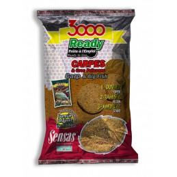 Amorce sensas 3000 ready carpes 1.25kg SENSAS 3297830109714 Appâts, Amorces