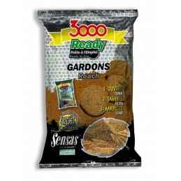 Amorce sensas 3000 ready gardons 1.25kg SENSAS 3297830109615 Appâts, Amorces