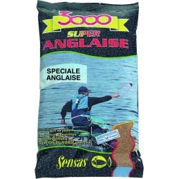 Amorce sensas 3000 spéciale anglaise 1kg SENSAS 3297830010010 Appâts, Amorces