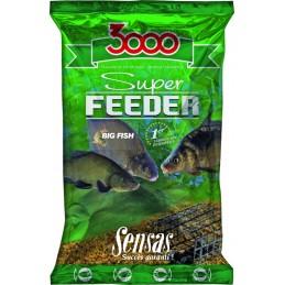 Amorce sensas super feeder big fish 1kg SENSAS 3297830105518 Appâts, Amorces