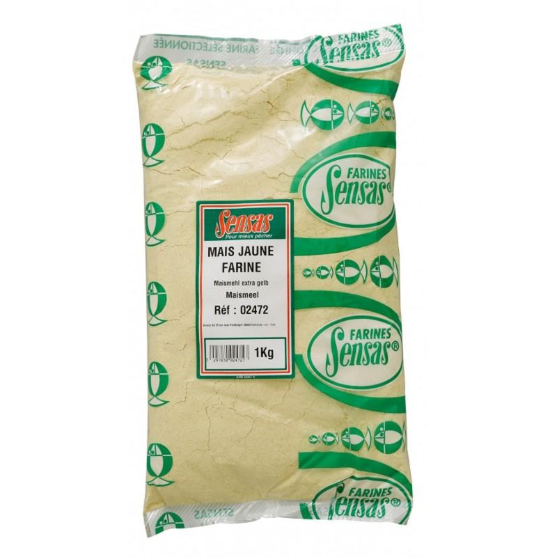Sensas farine de maïs jaune 1kg SENSAS 3297830024727 Appâts, Amorces