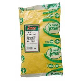 Sensas semoule de maïs fine 1kg SENSAS 3297830029128 Appâts, Amorces