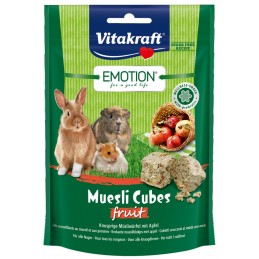 Emotion Muesli Cubes Fruit Vitakraft VITAKRAFT VITOBEL 4008239314918 Alimentation