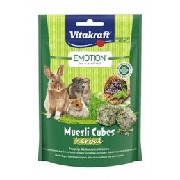 Emotion Muesli Cubes Herbal Vitakraft VITAKRAFT VITOBEL 4008239314901 Alimentation