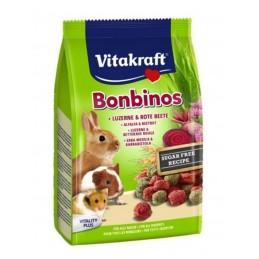 Bonbinos Betterave rouge & Luzerne Vitakraft VITAKRAFT VITOBEL 4008239253736 Friandise & Complément