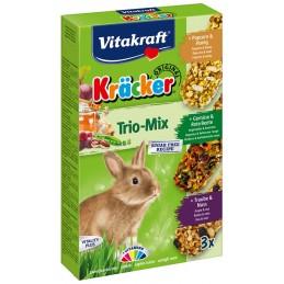 Vitakraft kräcker Lapin nain Trio Mix VITAKRAFT VITOBEL 4008239250872 Friandise & Complément