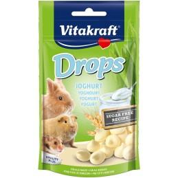 Drops goût Yaourt Vitakraft VITAKRAFT VITOBEL 4008239257895 Friandise & Complément