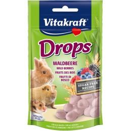 Drops goût Fruits des bois Vitakraft VITAKRAFT VITOBEL 4008239257871 Friandise & Complément