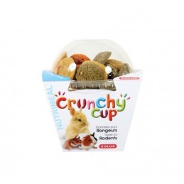 Crunchy Cup Nature & Carotte & Luzerne Zolux ZOLUX 3336022092547 Friandise & Complément
