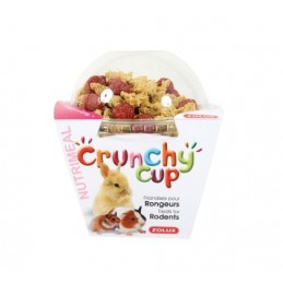 Crunchy Cup Nature & Betterave - Nuggets & Pellets Zolux