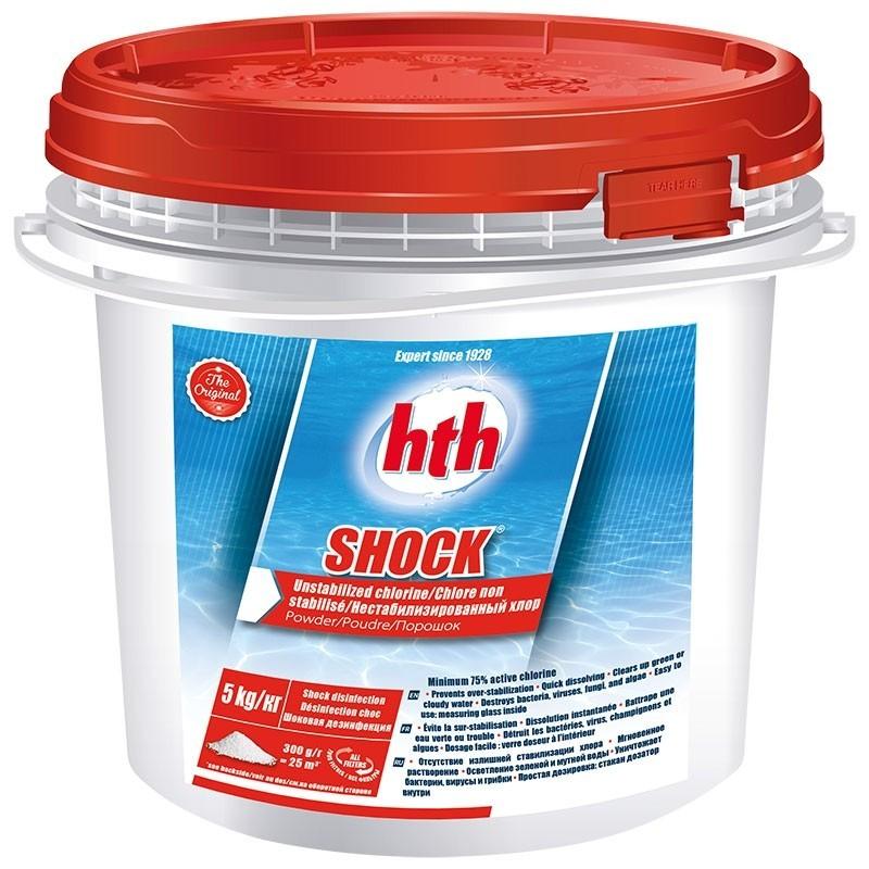 HTH Shock - chlore choc non stabilisé HTH Advanced 3521686003231 Produits nettoyage piscine