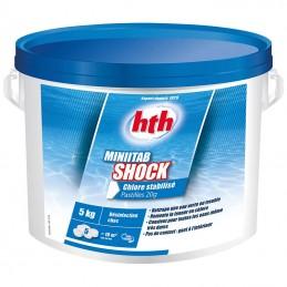 MiniTab Shock Chlore stabilisé HTH 5 kg HTH ADVANCED 3521686001138 Chlore