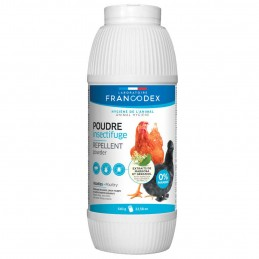 Poudre insectifuge volaille 640 g FRANCODEX 3283021742082 Accessoires Basse cour