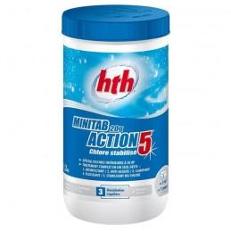 Chlore stabilisé pour une action désinfectante choc HTH Advanced 3521686003514 Produits nettoyage piscine