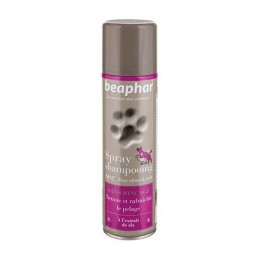Beaphar Spray shampooing sec chien & chat BEAPHAR 8711231130269 Shampooings