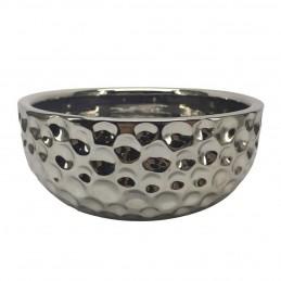 Ecuelle céramique argentée Bubimex