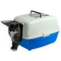 Litière pour chats - Maison De Toilette Chat - L'exotus