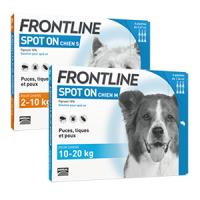 Pipette Antiparasitaire Chien - Protégez votre chien des puces & tiques